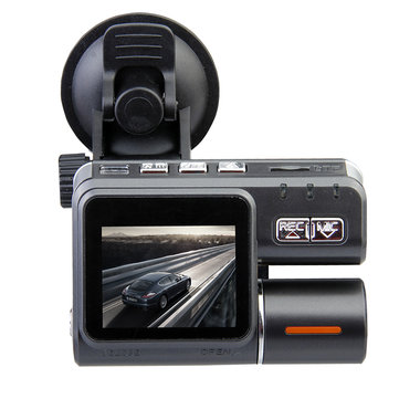 Car Black Box DVR HD 720P Dual Lens Dashboard Vehicle Camera